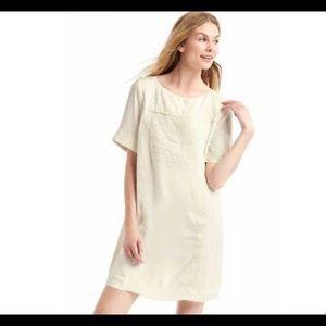 GAP Embellished Boatneck Snowcap Dress